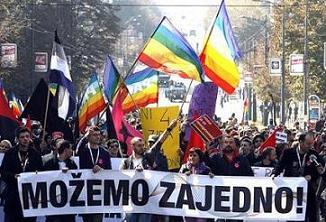 Servië - Belgrado Pride verandert stad in slagveld