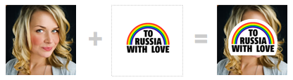Twibbon To Russia With Love