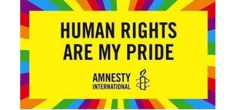 Amnesty - Human Rights Are My Pride