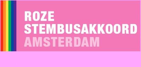 Roze Stembusakkoord Amsterdam - Sticky
