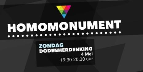 2014 Dodenherdenking Homomonument Amsterdam