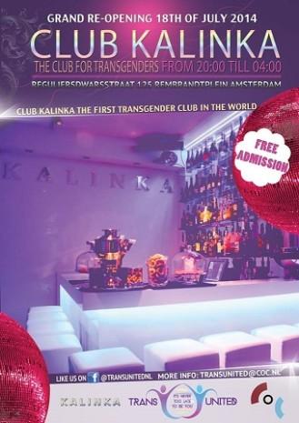 Club Katinka - Flyer Grand Re-opening 18 juli 2014