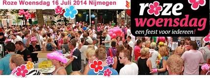 Roze Woensdag Nijmegen 2014 B