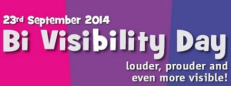 Bi Visibility Day 2014