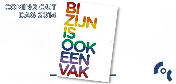 Coming Out Dag 2014 - Bi zijn is ook een vak STICKY A