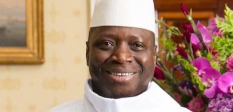 GAMBIA - president Yahya Jammeh - CC-Amanda Lucidon-White House