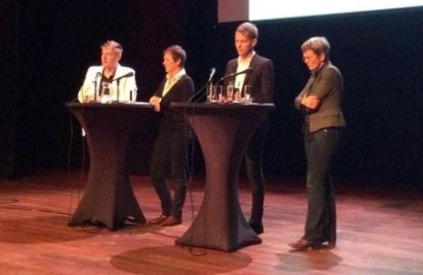 5000 ROEBEL - docu en debat Nijmegen 21 oktober 2014 met o.a. Joyce Hamilton 1