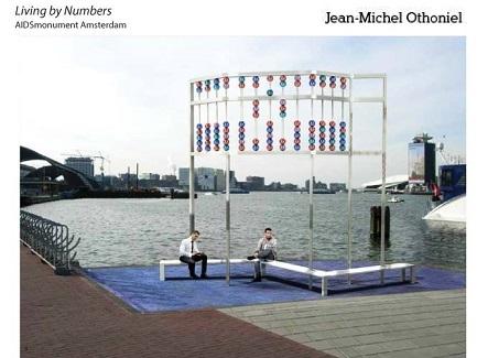AIDSmonument Amsterdam – ontwerp Jean-Michel Othoniel 2
