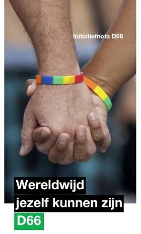 D66 LHBT-initiatiefnota Wereldwijd Jezelf Kunnen Zijn - november 2014