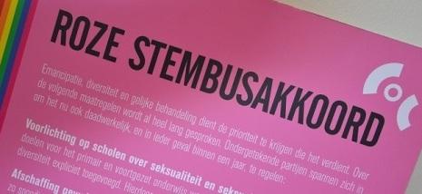 Roze Stembusakkoord STICKY