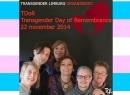 Transgender Gedenkdag 2014 Maastricht STICKY
