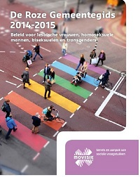 MOVISIE - De Roze Gemeentegids 2014-2015 cover klein