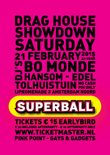 SUPERBALL Draghouse Showdown 2015 POSTER