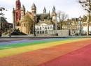 Regenboogzebrapad Maastricht STICKY