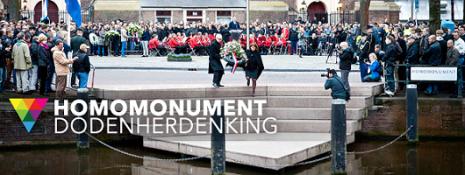 Homomonument Amsterdam - Dodenherdenking