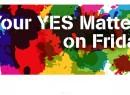 Ierland - Referendum Homohuwelijk YES - 22 mei 2015 STICKY