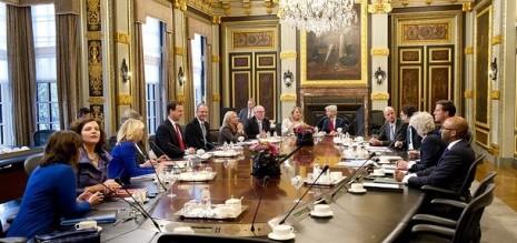 Ministerraad - kabinet Rutte 2 - CC-Premier Rutte