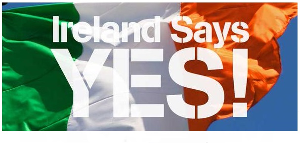 YES EQUALITY - IRELAND SAYS YES - Iers referendum mei 2015