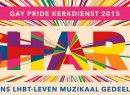 Amsterdam Gay Pride Kerkdienst 2015 STICKY
