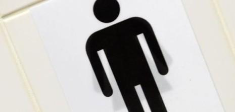 Genderneutraal toilet - COC-GSA en TNN WC-actiesticker - STICKY