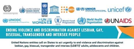 12 VN-organisaties - Verklaring Mensenrechten LHBTI's - september 2015
