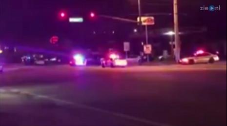 Politie bij het schietincident in Orlando