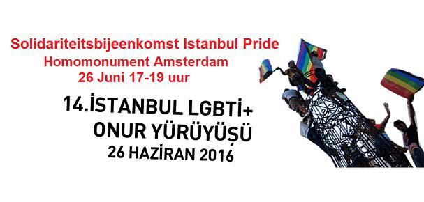 solidariteitsactie Instanbul Pride 2016 COC
